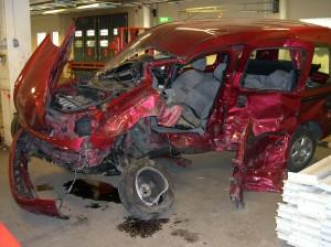 Renault påkörd i sidan av berusad Opelförare, som friades för dödsolyckan.